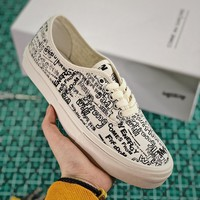 Comme des Garcons x Vans Vault Authentic LX CDG White - Best Online Sale