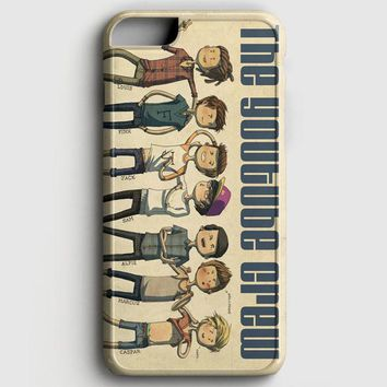British Youtubers Crew In Art iPhone 8 Case