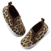 Carter's Leopard Print Slip-On Shoes