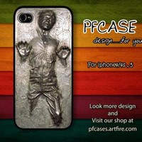 Star War han solo carbonite Case For Iphone 44s 5 Samsung S234 by pfcase on Zibbet