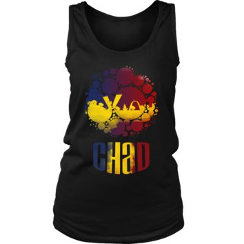 Chad Skyline Horizon Sunset Love Country Women's Tank