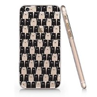 Because Cats Slim Pattern Iphone 6 Plus Case, Clear Iphone 6 Plus Hard Cover Case (For Apple Iphone 6 4.7 Inch Screen)-Emerishop