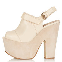 SHERYL Sling Back Platforms - New In This Week  - New In