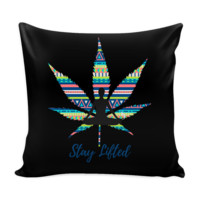 Stay Lifted Aztec Weed 16'' Pillow