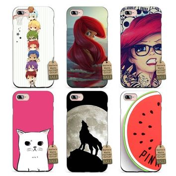 MaiYaCa Silicone case Kuroko no basket kawaii anime Pattern DIY Painted Beautiful phone Accessories For case  6 6PLUS 7 7PLUS