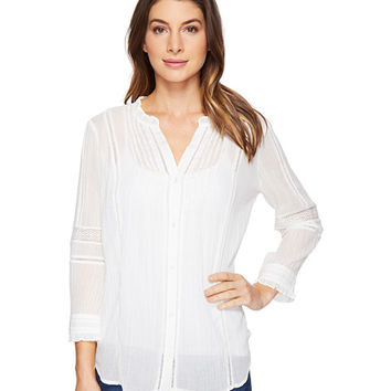 Paige Geneva Blouse White - Zappos.com Free Shipping BOTH Ways