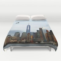 New York Duvet Cover by Haroulita | Society6