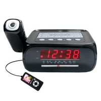 Supersonic SC-371 Digital Projection Alarm Clock with AM/FM Radio - TVs & Electronics - Portable Audio & Electronics - Clock Radios & Alarm Clocks
