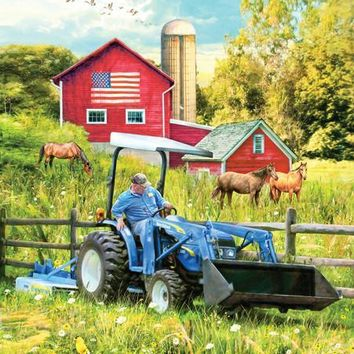 New Holland Field Day 1000pc Jigsaw Puzzle