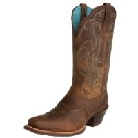 Ariat Women's Legend Western Boot, Distressed Brown, 8 M US