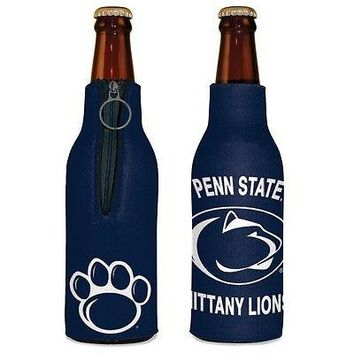 PENN STATE NITTANY LIONS 12 oz KOOZIE INSULATED BOTTLE HOLDER BRAND NEW WINCRAFT