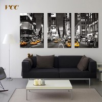 VCC Wall Art Canvas Painting,Times Square New York City Picture,Canvas Prints,Posters And Prints,Wall Pictures For Living Room