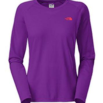 The North Face Women's Shirts & Tops WOMEN'S REAXION TEE LONG-SLEEVE