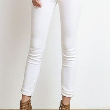 Penelope Skinnies - White