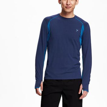 Old Navy Mens Go Warm Long Sleeve Tee