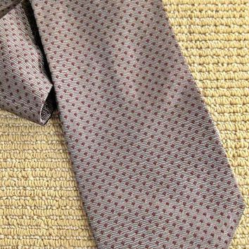 Vintage 1990s Simple Twist Of Class + Silk Tie