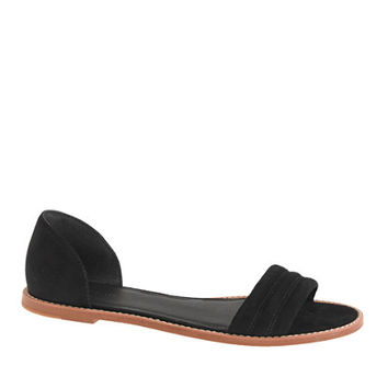 J.Crew Womens Hayes Suede Sandals