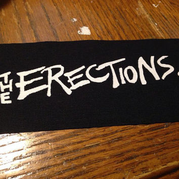 The Erections Punk Patch