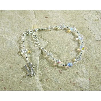 Ullr Prayer Bead Bracelet: Norse God of the Bow, the Hunt, and the Winter