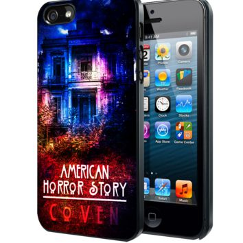 American Horror Story coven Samsung Galaxy S3 S4 S5 S6 S6 Edge (Mini) Note 2 4 , LG G2 G3, HTC One X S M7 M8 M9 ,Sony Experia Z1 Z2 Case
