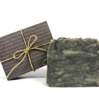 Blackberry Sage Soap, Handmade Soap, Vegan Soap, Gift under 10