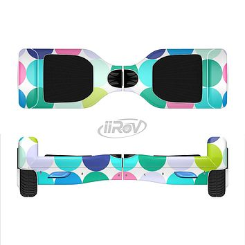 The Vibrant Colored Polka Dot V2 Full-Body Skin Set for the Smart Drifting SuperCharged iiRov HoverBoard