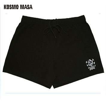 Summer Fitness Strand Shorts Men's Harem Sweat Cargo Muscle Dog Cotton Compression Casual Short