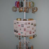Organizing Corner Jewelry Organizer by Longstem - a patented unique corner solution for women. Rated Best
