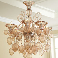 """Blush"" Chandelier - Horchow"
