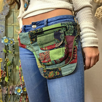 Patchwork Utility Belt