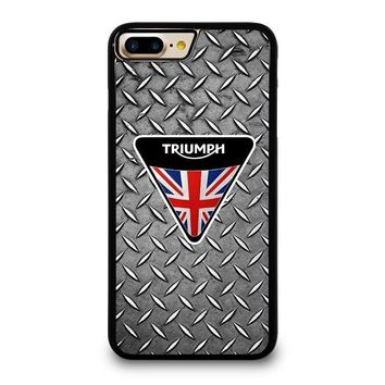 logo triumph motorcycle iphone 4 4s 5 5s se 5c 6 6s 7 8 plus x case  number 1