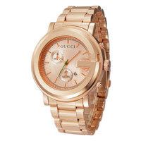 GUCCI Ladies Men Watch Stylish Watch- Rose Gold
