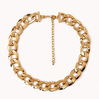 Statement-Making Curb Chain Necklace