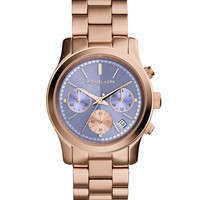 Runway Rose Golden Stainless Steel Watch - Michael Kors