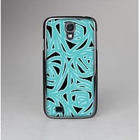The Vector Subtle Blues Pattern Skin-Sert Case for the Samsung Galaxy S4