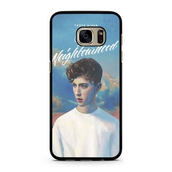 Blue Neighbourhood Troye Sivan Samsung Galaxy S7 Case