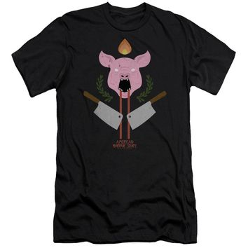 American Horror Story - Pig Cleavers Short Sleeve Adult 30/1