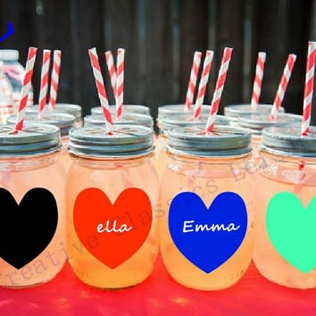 30 pieces/lot wedding chalkboard , Blank Heart Chalkboard Labels for your Wedding Mason Jars diy Valentine Party Favor idea