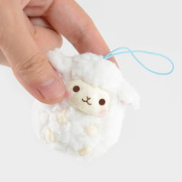 Wooly Baby Sheep Plush Collection (Mini Strap)