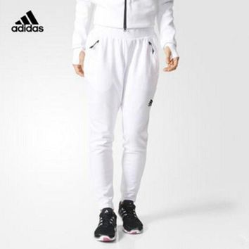 DCCKH3L Adidas ZNE' Women Sports Casual Knit Leisure Pants Trousers Sweatpants