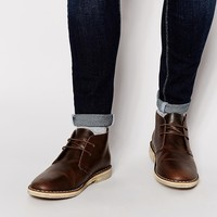 ASOS Desert Boots in Leather