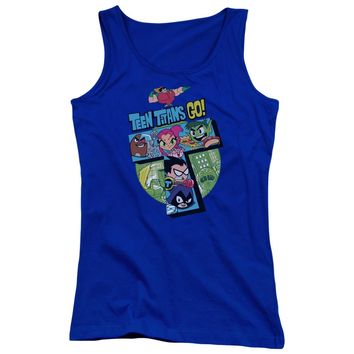 Teen Titans Go - T Juniors Tank Top Officially Licensed Apparel