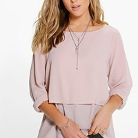 Cara Double Layer Blouse