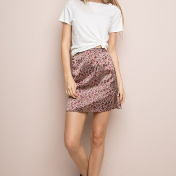 REDDY SILKY SKIRT