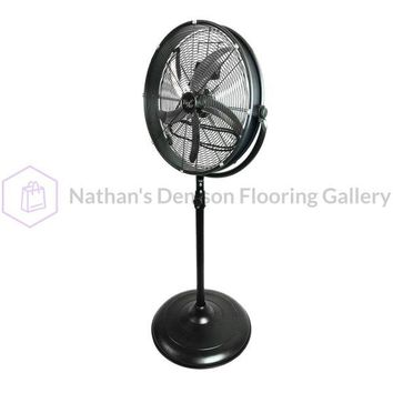 Vie Air 20 Industrial 3 Speed Heavy Duty Powerful and Quiet Metal High Velocity 360 Degree Tilting Pedistal Drum Fan