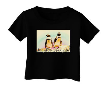 Magellanic Penguin Text Infant T-Shirt Dark