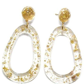 Gold Sprinkles Earrings
