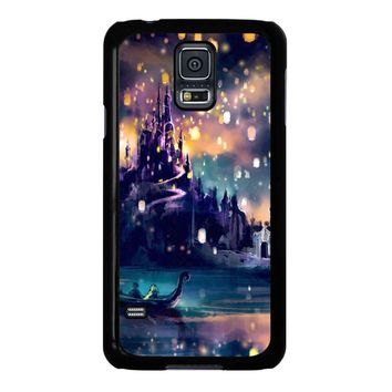 Tangled Movie Poster Lights Samsung Galaxy S5 Case