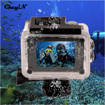 4K Ultra HD WIFI Action Camera 2-inch LTPS Screen 30M Waterproof Underwater Go Pro Camera 170 Degree Wide Angle Lens -3132