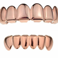 Rose Gold Grillz Set